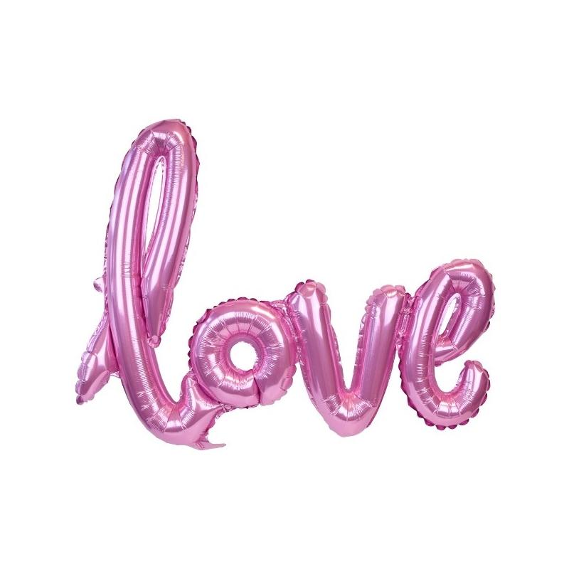 LOVE BALLOON PINK