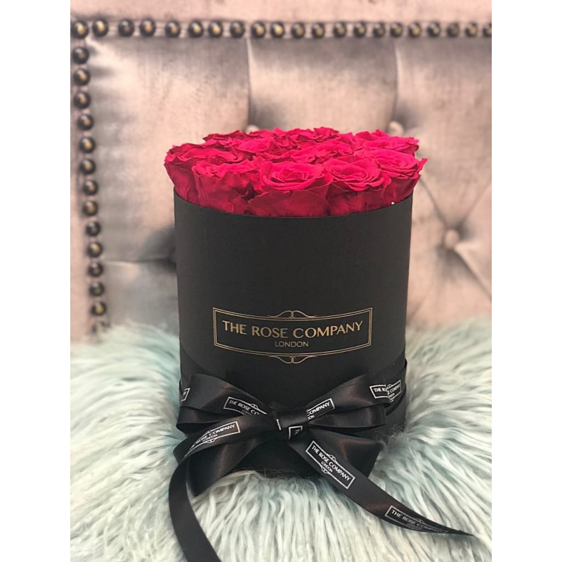 CHERRY INFINITY ROSES - black box